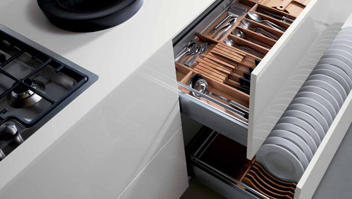 Soluciones de almacenamiento para la cocina - Mueble rinconera cocina ...