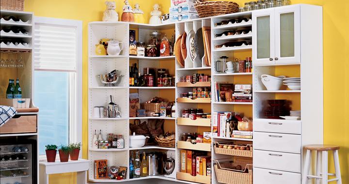 Soluciones de almacenamiento para la cocina