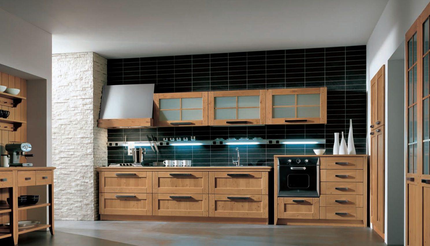 Fotos de cocinas de madera for Cocinas con desayunador de madera