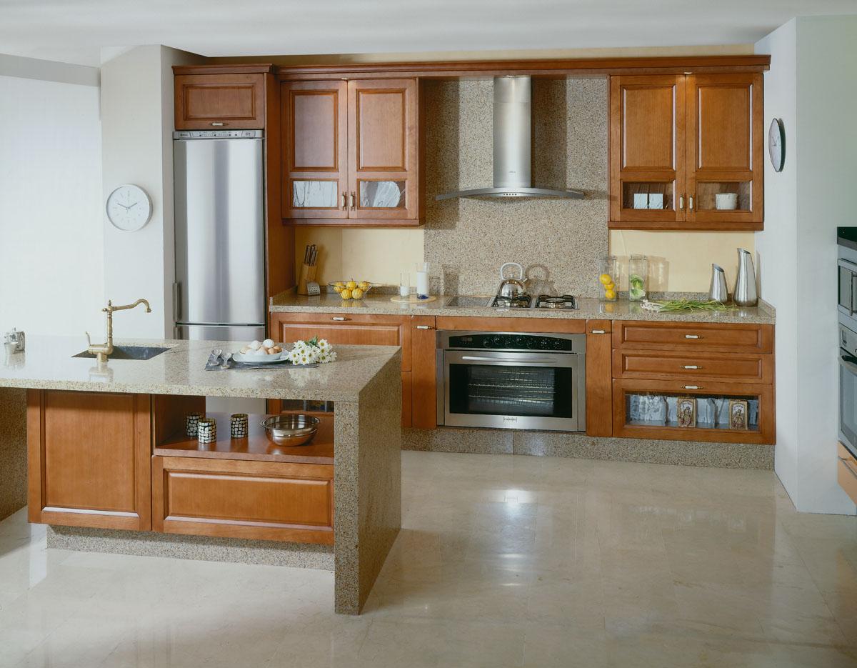 Fotos de cocinas de madera - Maderas para cocinas ...