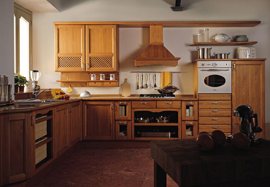 Cocinas de madera38 for Muebles cocina rusticos