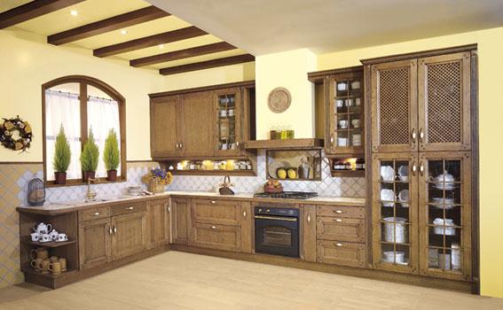 Fotos de cocinas de madera for Maderas para cocinas