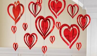Decoracion corazones31
