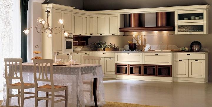 Cocinas rusticas en blanco blanco cocina rstica - Cocinas rusticas en blanco ...