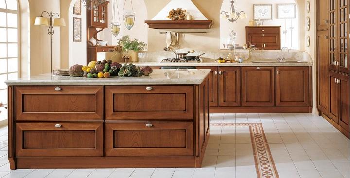 Fotos de cocinas de madera for Cocinas integrales de madera