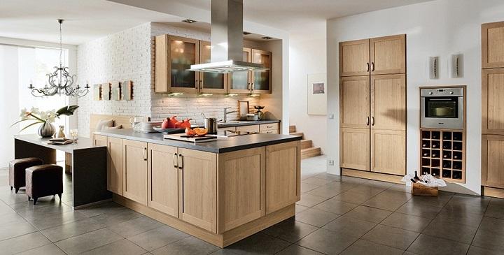 Fotos cocinas de madera3