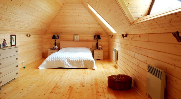 Casas prefabricadas baratas for Paredes de madera interior casa