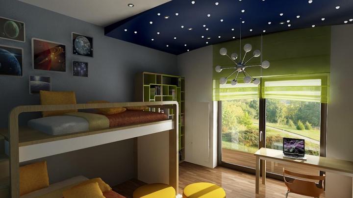 Dormitorios infantiles coloridos - Decoracion interiores infantil ...