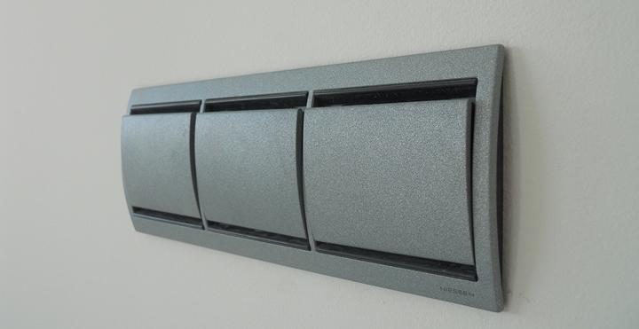 Interruptores decorativos modernos - Llaves de luz precios ...