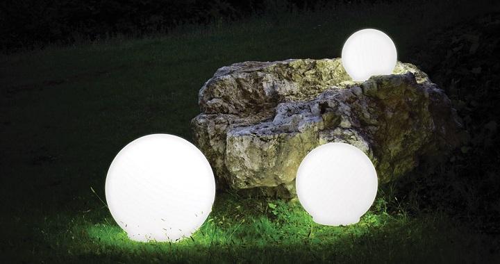 lamparas jardin