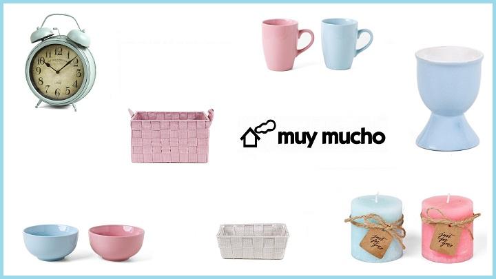 Complementos para tu hogar de colores pastel for Complementos de hogar