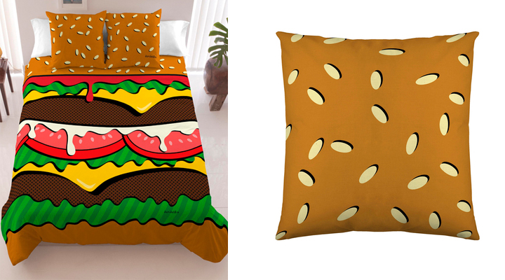 Original colecci n de ropa de cama david delf n 2014 for Cama hamburguesa