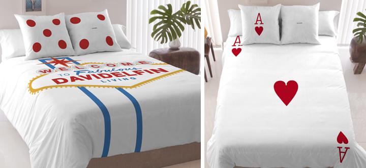 Original colección de ropa de cama David Delfín 2014