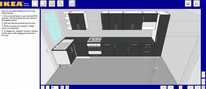Genial cocina ikea 3d fotos my real dream kitchen before for Programa de diseno de closet gratis en espanol