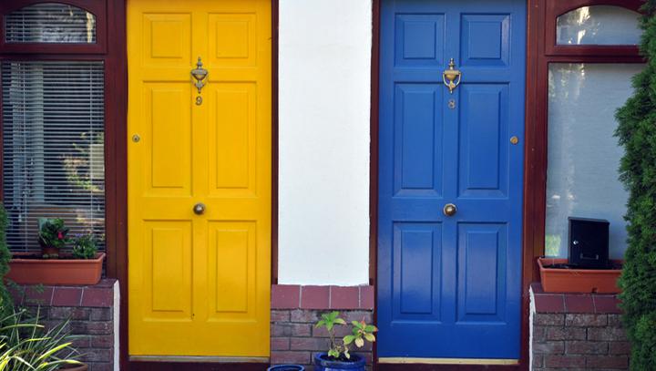 Consejos para pintar la puerta de casa - Pintar puertas de blanco en casa ...
