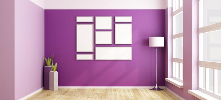 Los colores m s utilizados para pintar paredes - Colores pintar paredes ...