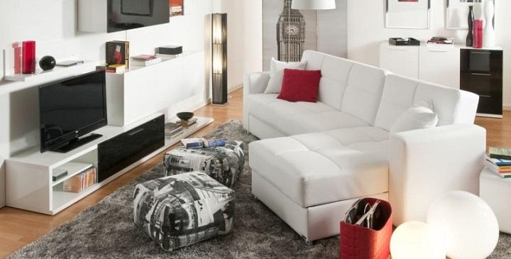 Muebles de sal n de conforama for Modelos de muebles de salon