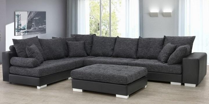 Muebles de sal n de conforama for Sofa xxl conforama