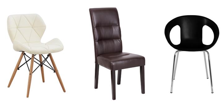 Sillas de comedor baratas for Telas para tapizar sillas comedor