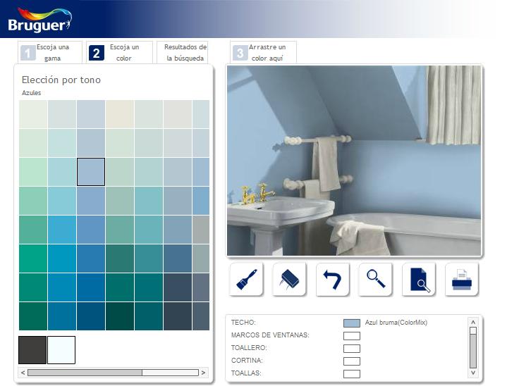 Simulador de pintura de pisos - Simulador de colores para paredes ...