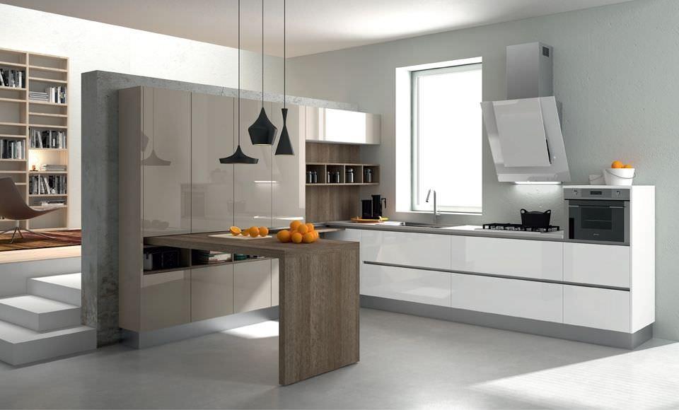 Cocinas modernas28 for Plateros para cocinas integrales