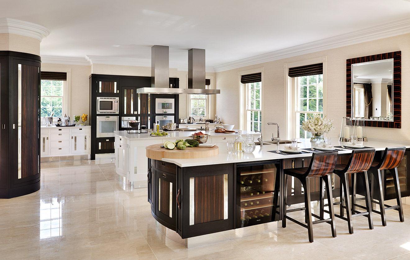 Fotos de cocinas modernas for Cocinas grandes modernas