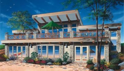Planos de casas modernas - Enorme terras ...