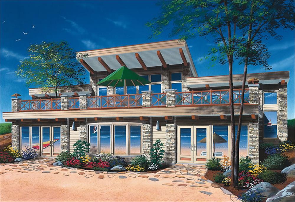 Planos casa moderna con enorme terraza1 - Enorme terras ...