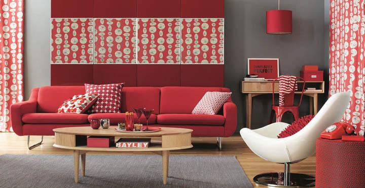 Colores de moda en decoración