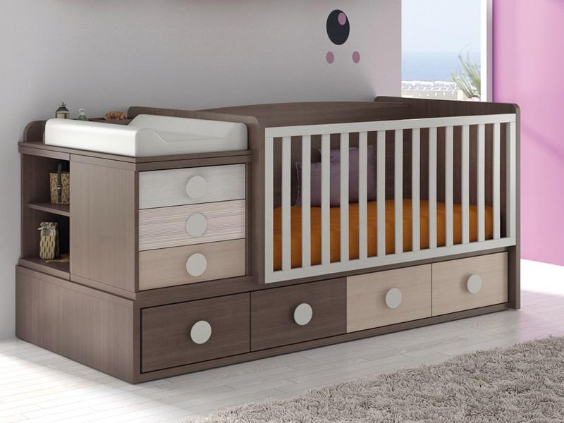 Cunas que se convierten en camas for Mueble que se hace cama