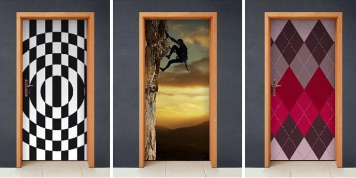 Decorar puertas con fotos