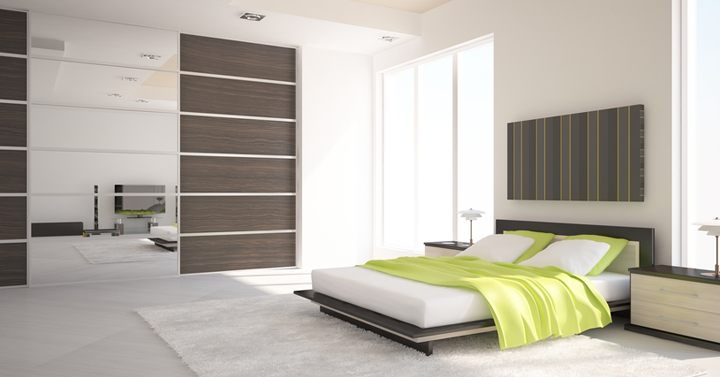 Muebles modernos para el dormitorio - Armarios empotrados modernos ...