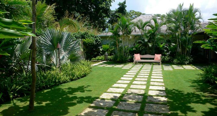 de interior, la organización es fundamental en jardines y terrazas