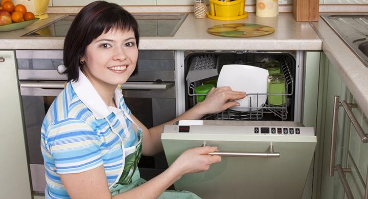 abrir el lavavajillas