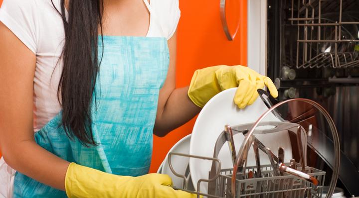 usar el lavavajillas