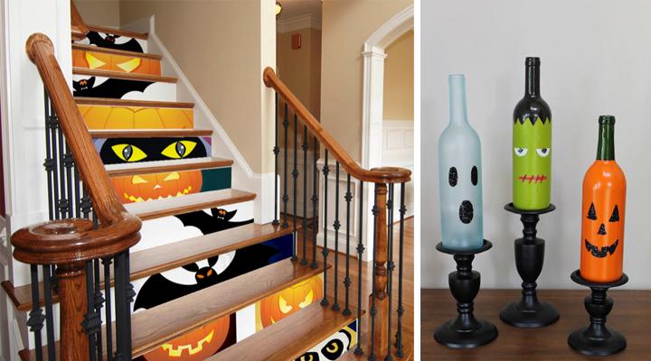 Manualidades para decorar en halloween for Como decorar el hogar