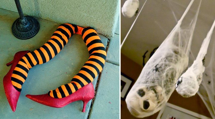 Manualidades para decorar en Halloween