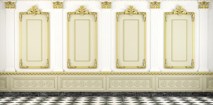 Molduras decorativas para personalizar el hogar - Molduras techo pared ...