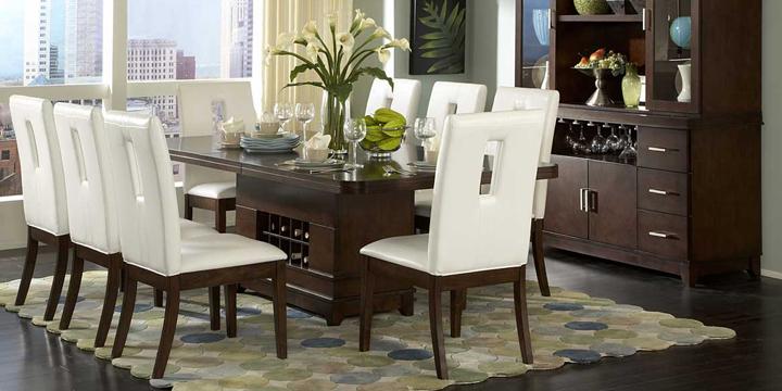 Muebles baratos para el comedor for Muebles modernos para comedores pequenos