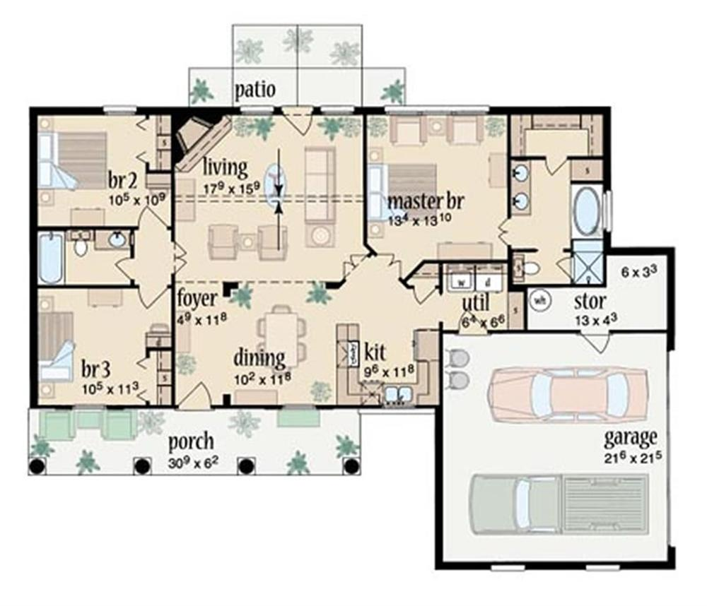 planos de casas rurales - diseños arquitectónicos - mimasku