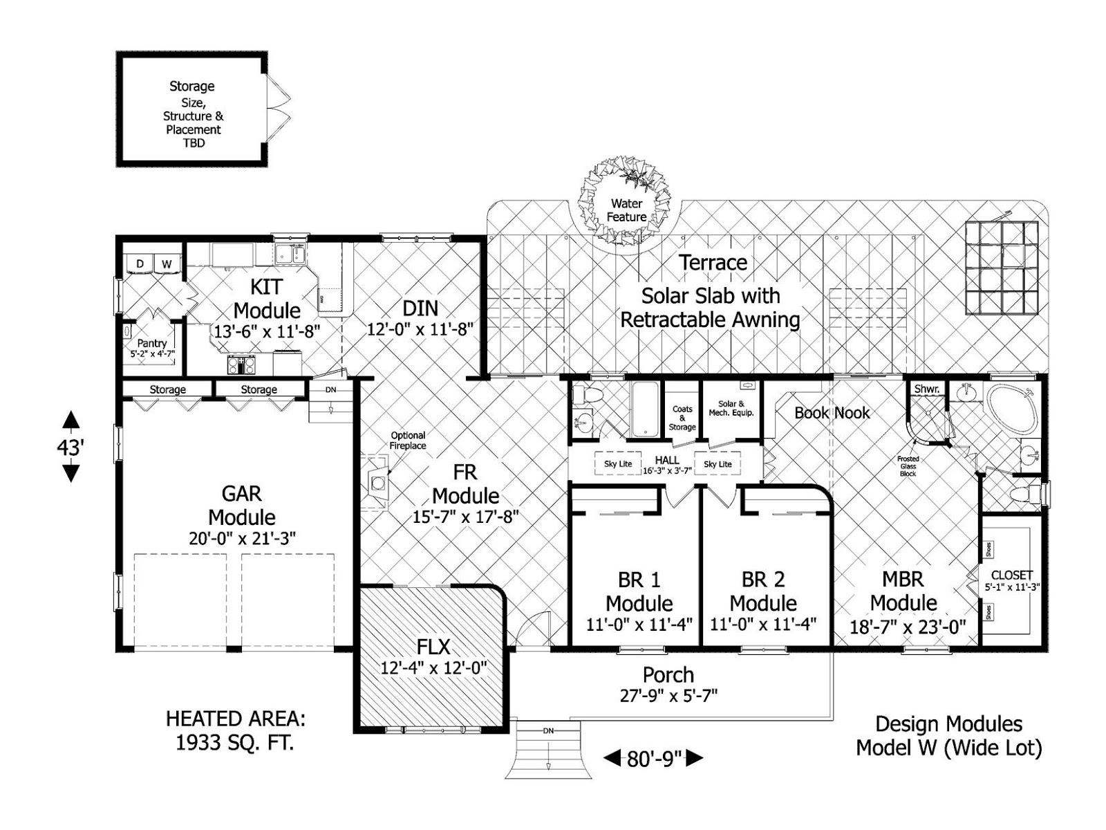 Planos de casas rurales4 for Planos de casas rurales