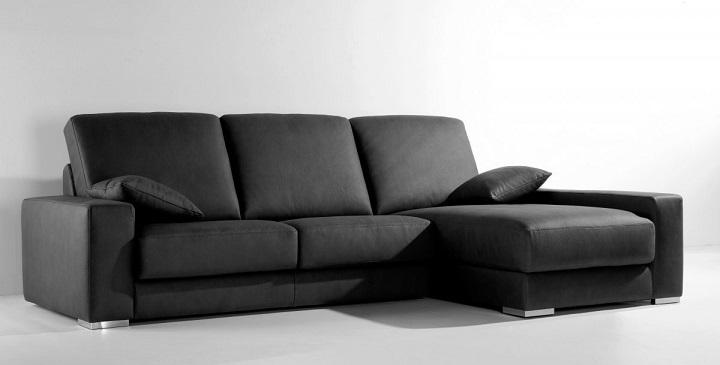 Sillones modernos de cuero muebles villa el salvador for Sillones baratos nuevos