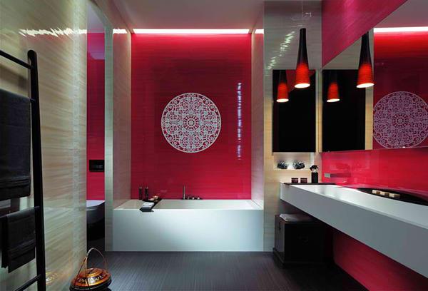Baño Azulejos Colores:Bathroom Tile Design