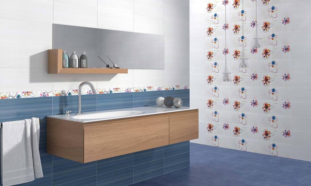 Azulejos Para Un Baño:Azulejos de colores para el cuarto de baño