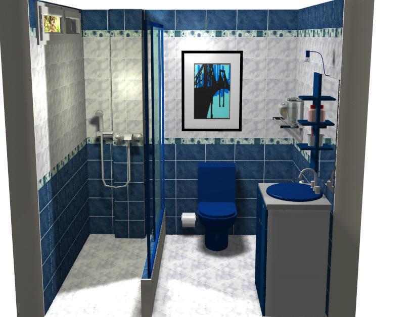 Decorablog revista de decoraci n - Azulejos azules para bano ...