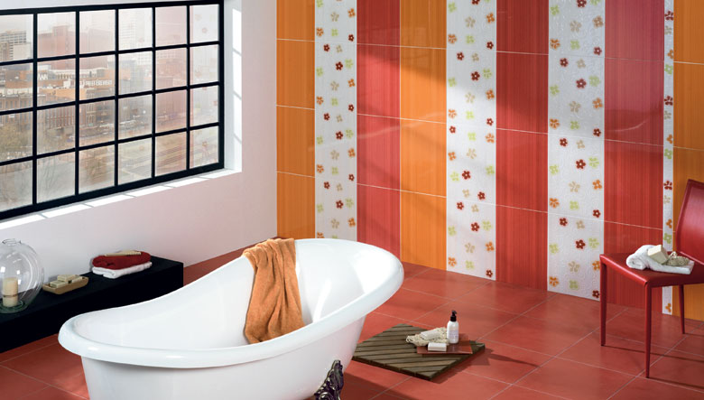 Azulejos Baño De Colores:Bathroom Wall Tile Designs