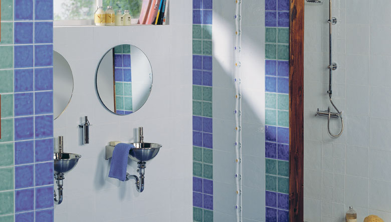 Azulejos Baño De Colores:Bathroom Tile Colors with Blue