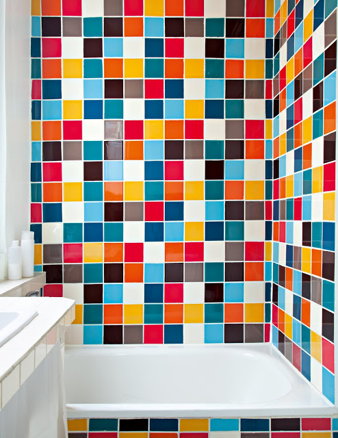 Azulejos de colores para el bano28 - Azulejos de colores ...