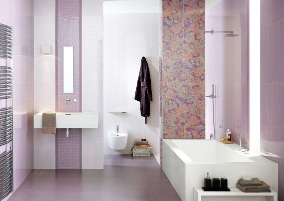 azulejos para bao color lilamodern bathroom decorating ideas azulejos para bao color lila