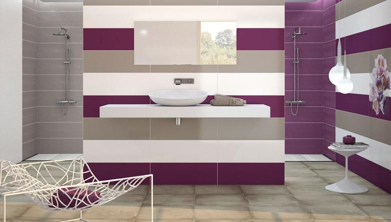 Azulejos de colores para el cuarto de ba o - Como colocar azulejos en el bano ...